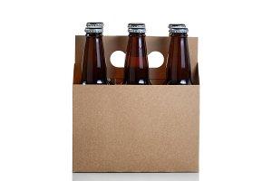 Bottle beer in generic carrier