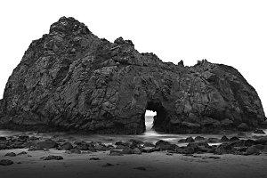 Pfeiffer Beach Sun Portal, Big Sur