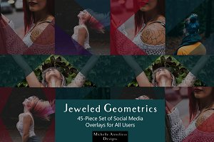 Jeweled Geometrics Full Set