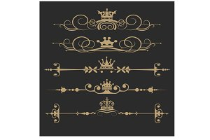 Design Elements Vector, Royal 3