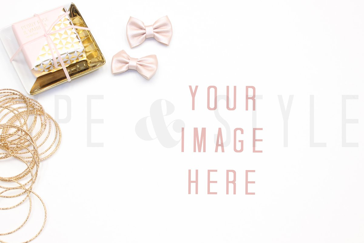 Styled Stock Photo - Vanity scene in Product Mockups - product preview 8