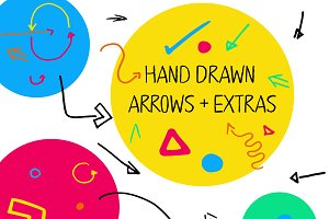 Handdrawn Arrows + Extras