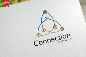Connection / Network - Logo Template