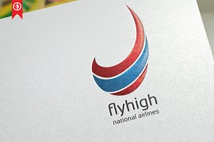 Abstract / Fly High - Logo Template