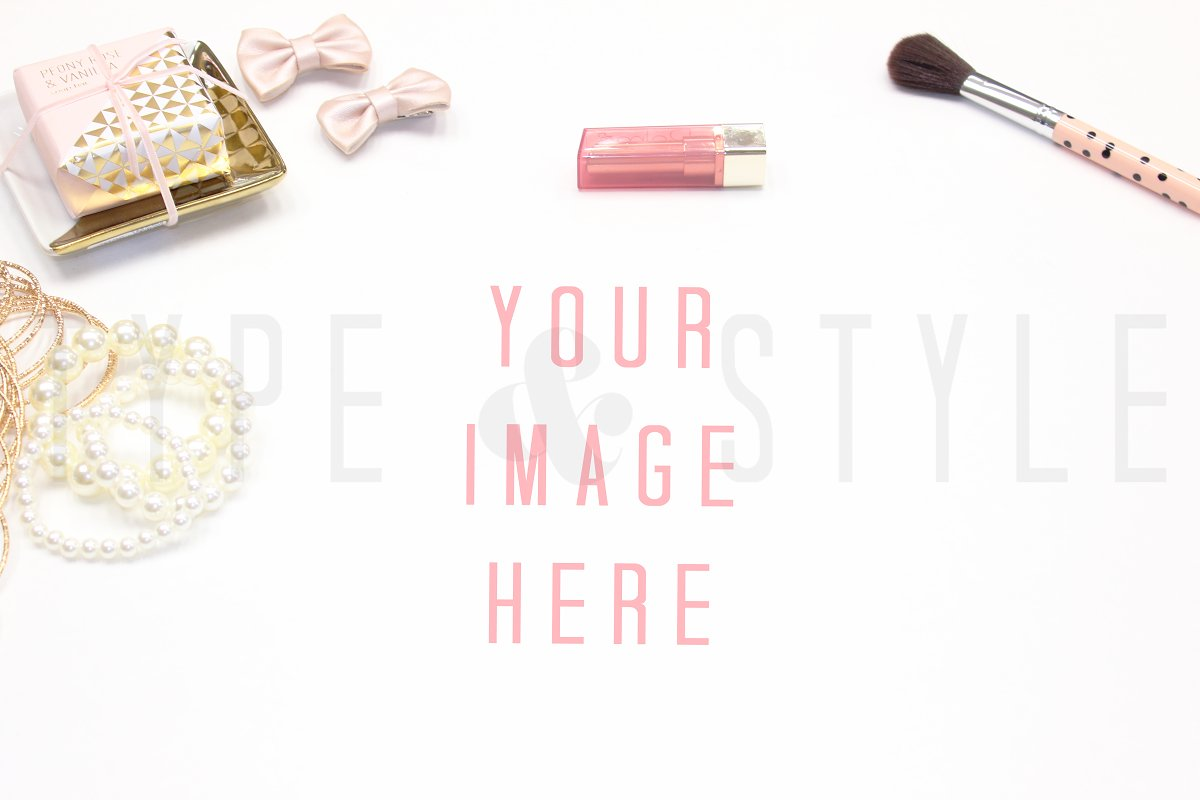 Styled Stock Photo - Vanity Mock-up in Mockup Templates - product preview 8