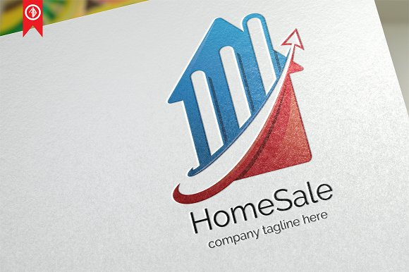 Home Sale Property Logo Template