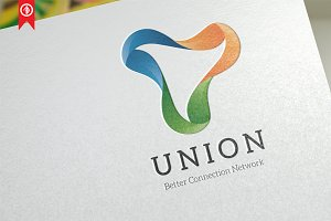 Abstract / Union Network - Logo