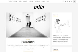 Mila | Blog & Shop Theme with Forum