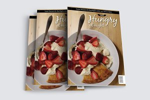 Hungry At Night Print Magazine Templ