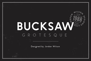 Bucksaw Grotesque