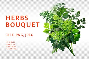 Herbs bouquet