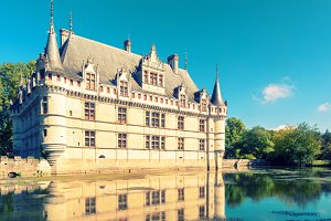 The chateau de Azay-le-Rideau