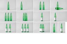 Water Bottle Mock-Up Photo Bundle 2
