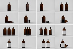 Medicine Bottle Mock-Up Photo Bundle