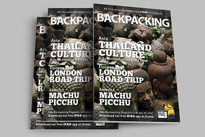 BackPacking IndesigMagazine Template