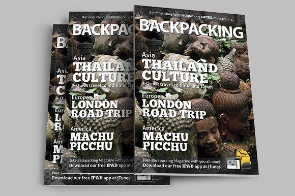 BackPacking IndesigMagazine Template