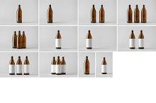 Beer Bottle Mock-Up Photo Bundle 6