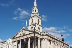 St Martin church in London