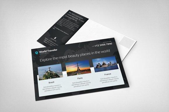 Download Post Card Mockup #4