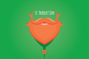 Illustration of Saint Patrick's Day