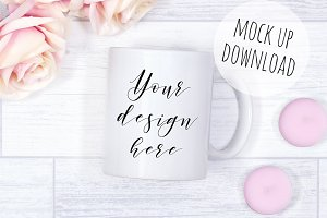 Mug Mock Up Product Photography