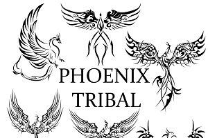6 Phoenix Tribal Tattoos