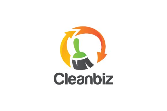 Cleaning Business Logo Templates Creative Market