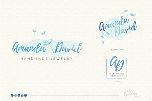Watercolor Logo & Business Card - 02