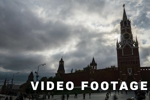 Red Square Moscow Clock Tower