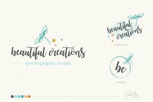Glitter Logo & Business Card - 01
