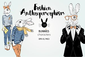 Fashion Bunnies collection