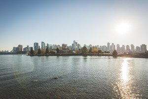 City Skyline of Vancouver
