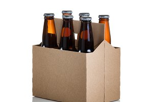 Six Pack of Beer ready to party