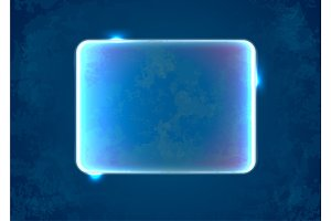 Abstract blue rectangle placeholder