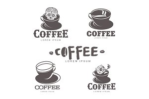 coffee logo templates