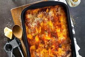classic Italian eggplant Lasagna