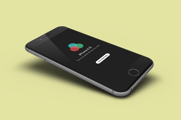 5 Angled iPhone Product Mockups in Mobile & Web Mockups - product preview 4
