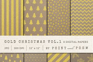 50% Off Christmas Digital Paper