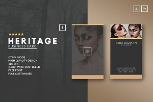 Elegant Business Card 3 in 1