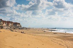 Sand beach in France