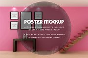 Poster / Artwork interior mockup