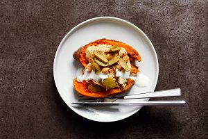 dish of Sweet potato