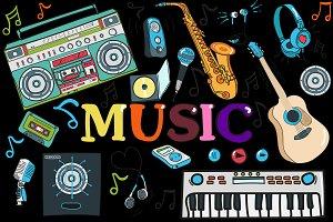MUSIC- big set   (vector)