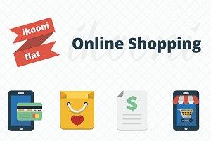 ikooni flat: Shopping