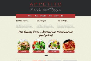 Appetito - WP Restaurant Theme