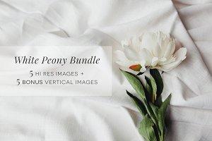 White Peony Bundle + Bonus