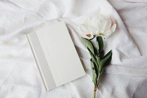 White Peony & Book