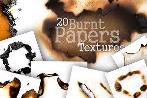 20 Burnt Paper Textures