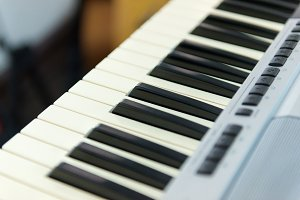 piano or cmusical keyboard