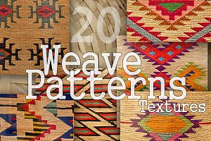 20 Weave Patterns Textures Pack